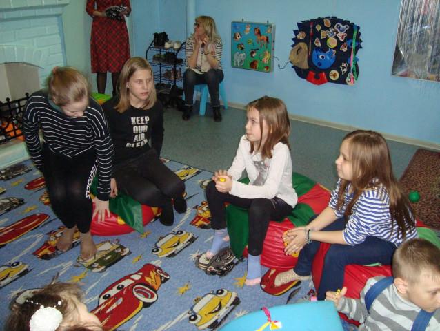 Дети на мероприятии