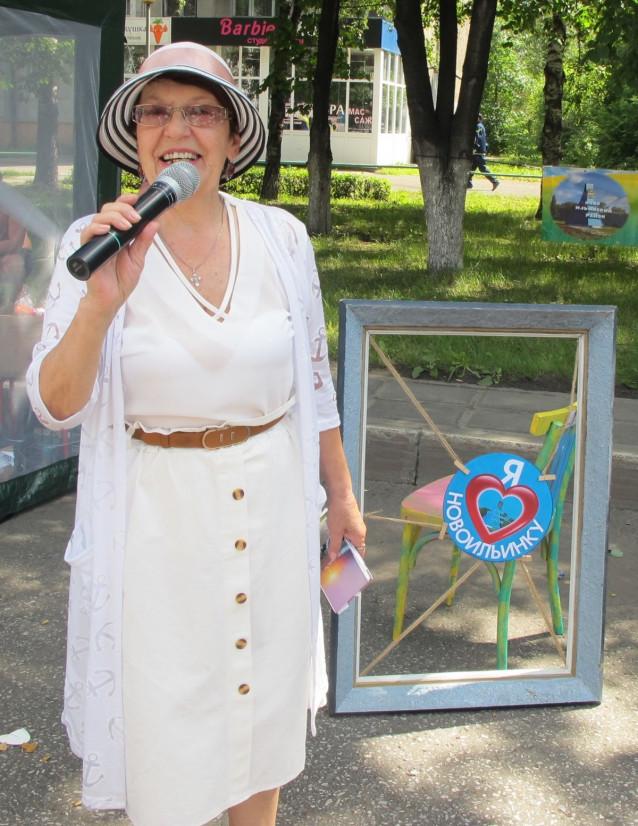 Палаткина читает стихи