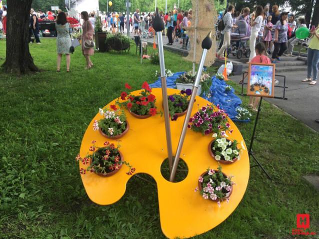 5 июля 2019 года. Фестиваль флористики и ландшафтного дизайна «Цветосфера»