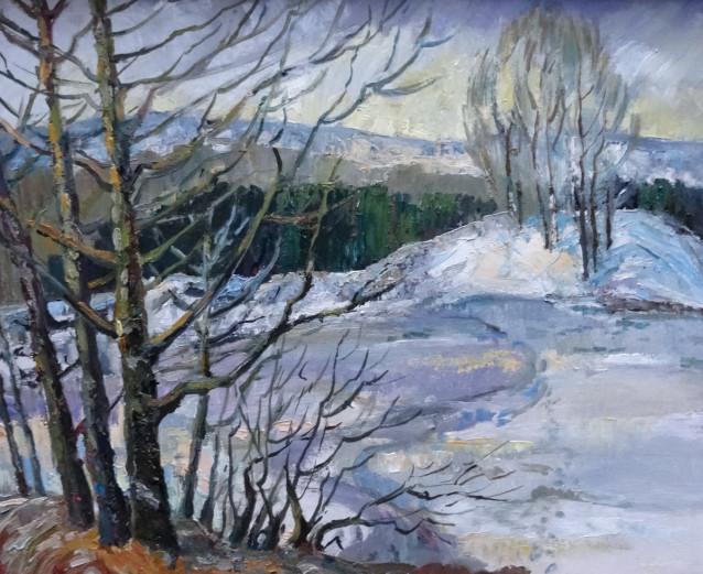 Картина Ирины Зинатулиной