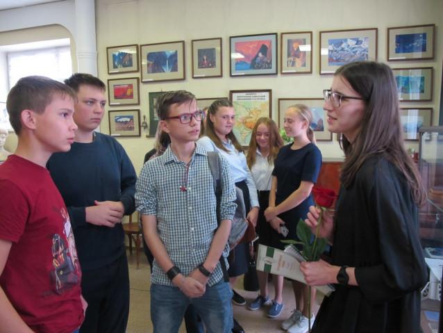 Беседа с актрисой Е.Е.Пономарёвой