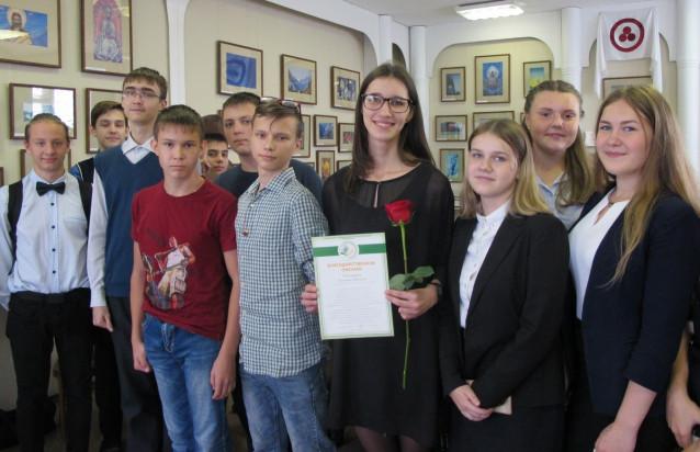 Фото с актрисой Е.Е.Пономарёвой