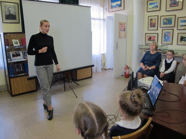 Встреча с балетмейстером А.М.Пахтусовой