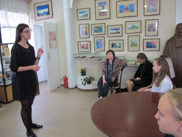 Встреча-интервью с актрисой Е.Е.Пономарёвой