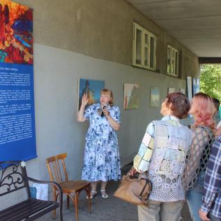 18 Экскурсия по выставке в арт тоннеле 2
