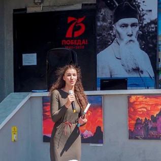 Актриса Новокузнецкого драматического театра Екатерина Пономарёва